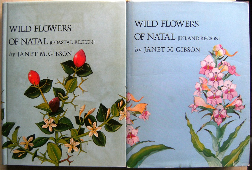 Image for Wild Flowers of Natal (Coastal Region). Wild Flowers of Natal (Inland Region).  Two volumes.