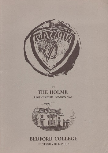 Image for PLAZZOTTA AT THE HOLME, REGENT'S PARK