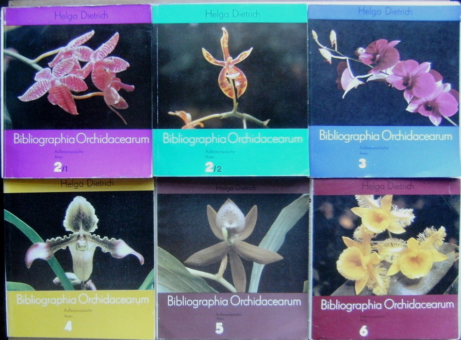 Image for Bibliographia Orchidacearum. Volumes 2 - 6 (in six parts)