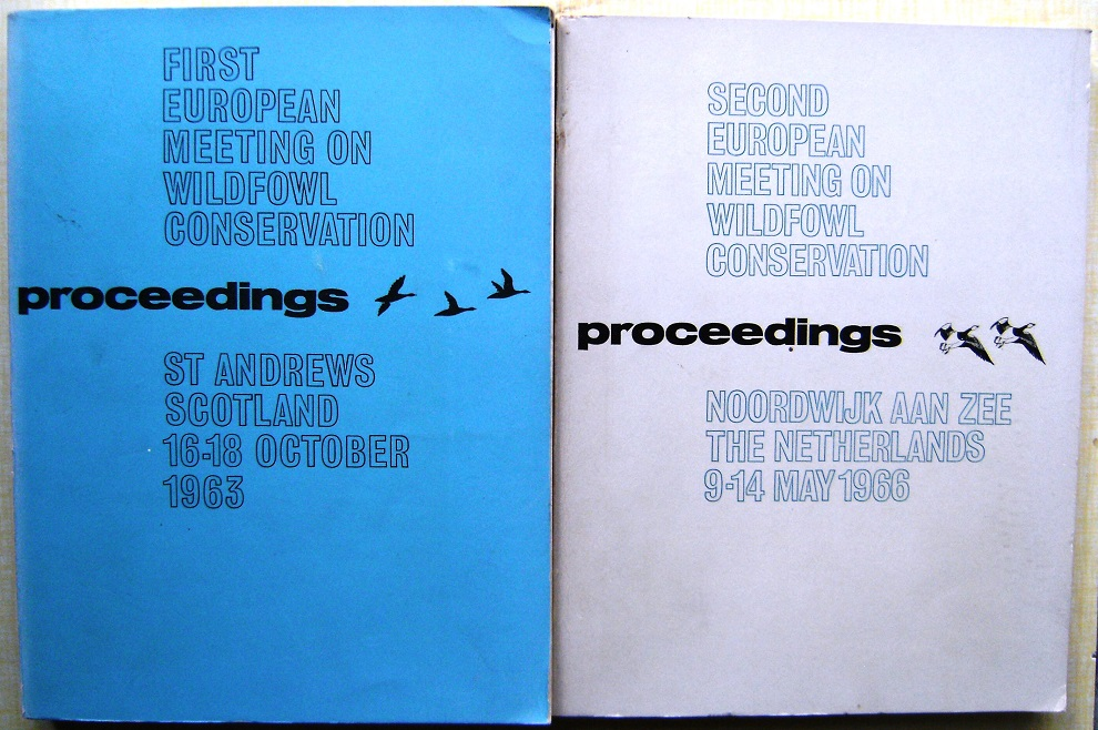 Image for Wildfowl Conservation -  Proceedings of the First and Second European Meetings. Two volumes. (Richard Fitter's copies)