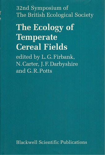 Image for The Ecology of Temperate Cereal Fields