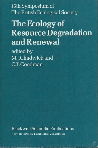 Image for The Ecology of Resource Degradation and Renewal