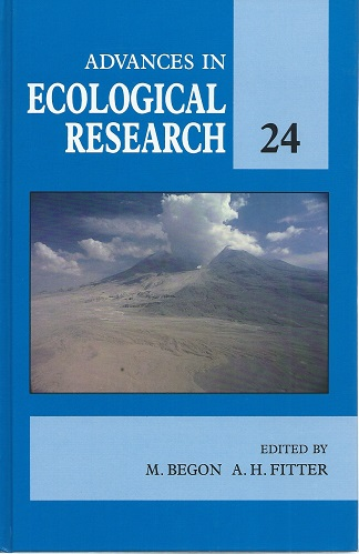 Image for Advances in Ecological Research. Volume 24