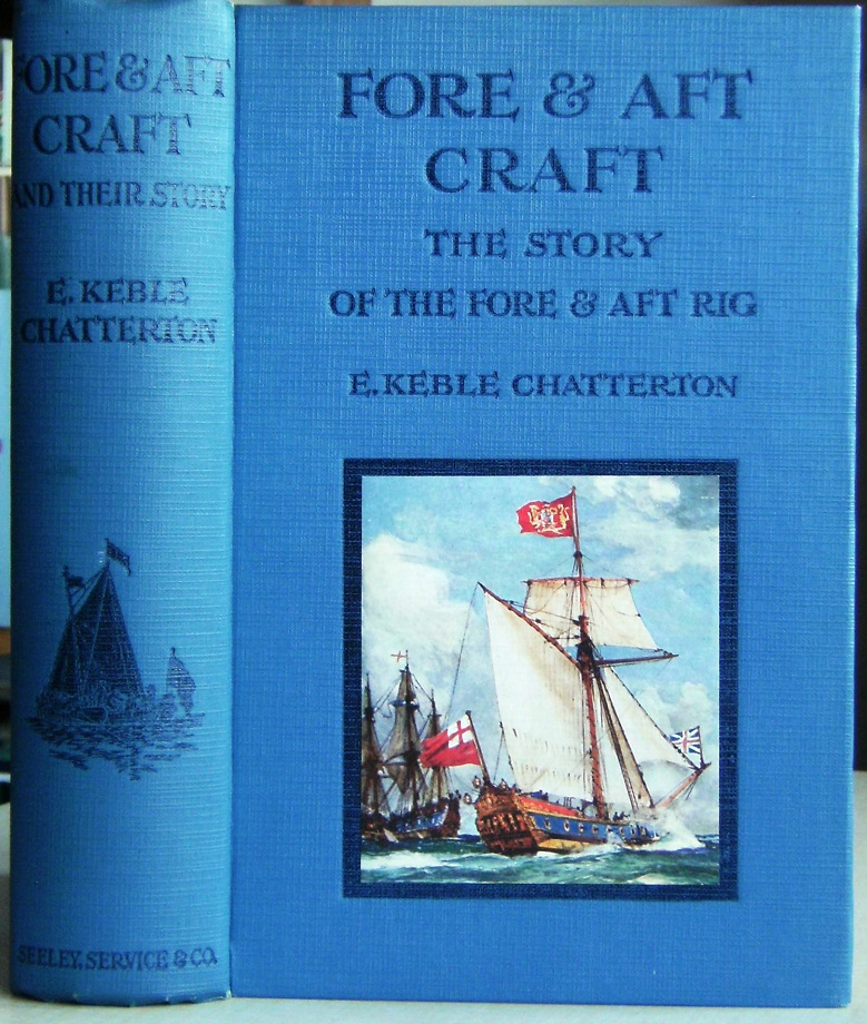 Image for Fore and Aft Craft - an account of the fore and aft rig fro the earliest times to the present day