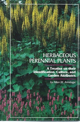 Image for Herbaceous Perennial Plants : a treatise on their identification, culture and garden attributes
