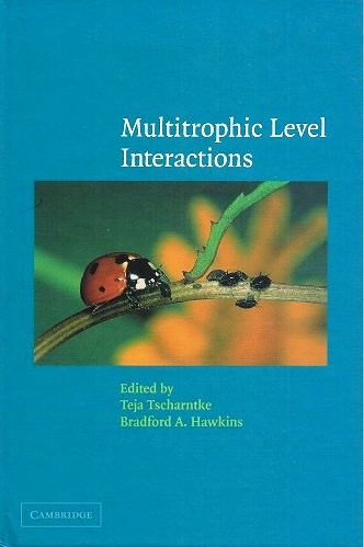 Image for Multitrophic Level Interactions