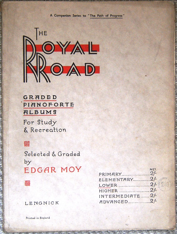 Image for The Royal Road - Graded Pianoforte Albums for Study & Recreation :  Lower Grade