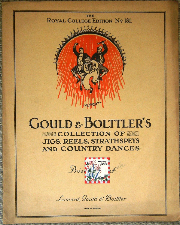 Image for Gould & Bolttler's Collection of Jigs, Reels, Strathspey's and Country Dances