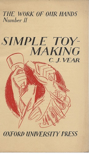 Image for Simple ToyMaking (The Work of our Hands series) {Toy Making}