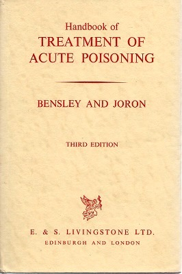 Image for Handbook of Treatment of Acute Poisoning