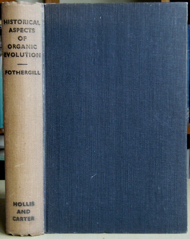 Image for Historical Aspects of Organic Evolution [Sir John Burnett's copy]