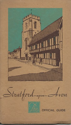 Image for Stratford-Upon-Avon : The Official Guide