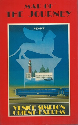 Image for Venice  Simplon Orient-Express : Map of the Journey
