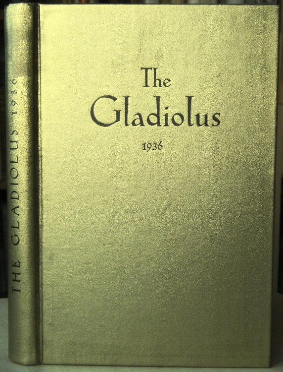 Image for The Gladiolus - 1936