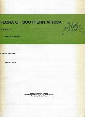 Image for Crassulaceae (Flora of Southern Africa Vol 14)