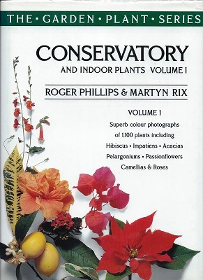 Image for Conservatory and Indoor Plants (Volume 1)
