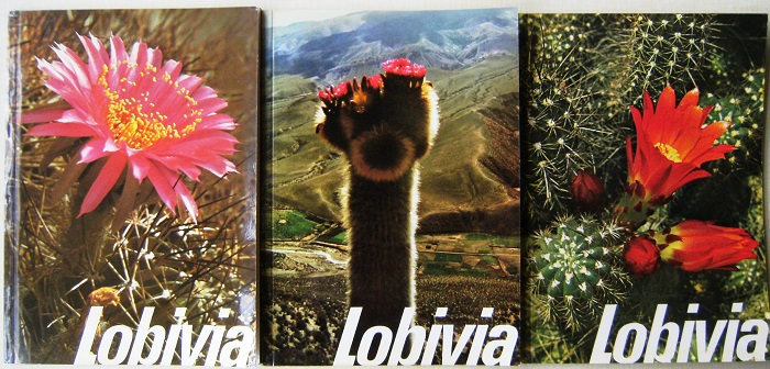 Image for Lobivia - the day-flowering Echinopsidinae from a geographical distribution point of view