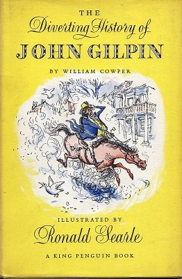 Image for The Diverting History of John Gilpin: Showing how he went farther than he intended and came safe home again
