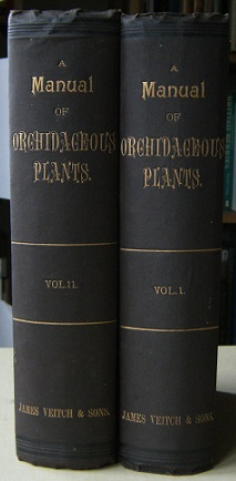 Image for A Manual of Orchidaceous Plants Cultivated Under Glass in the  British Isles  (Two volumes)