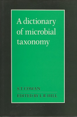 Image for A Dictionary of Microbial Taxonomy