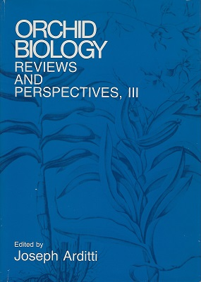 Image for Orchid Biology - Reviews and Perspectives Volume 3 (III)