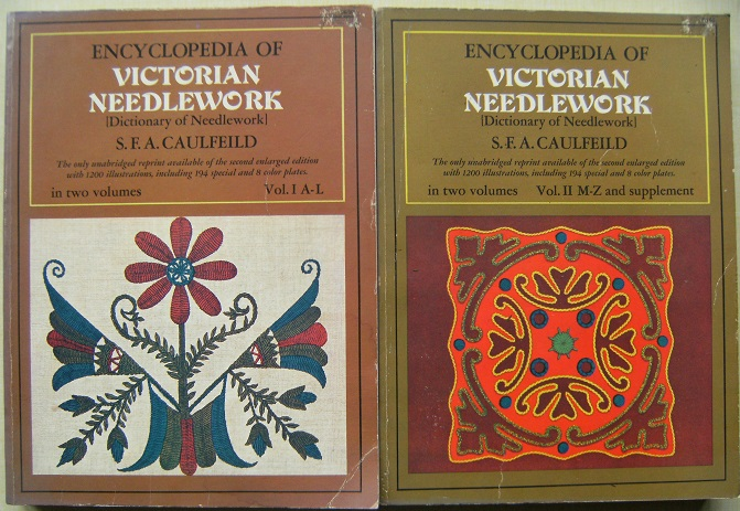 Image for Encyclopedia of Victorian Needlework (Dictionary of Needlework, 1887) facsimile reprint in two volumes