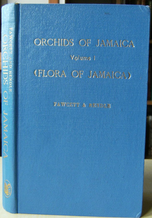 Image for Flora of Jamaica. Volume 1 - Orchidaceae (1910). Facsimile reprint