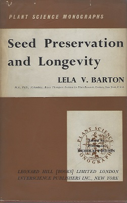 Image for Seed Preservation and Longevity