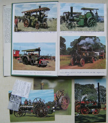 Image for Traction Engines. [A unique copy, extra-illustrated with  41 postcards) { + Old Farm Tractors}