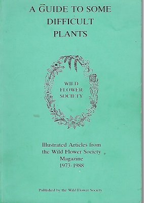 Image for A Guide to Some Difficult Plants - illustrated articles from the Magazine, 1973-1988