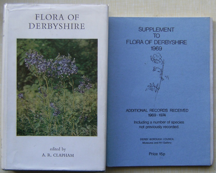 Image for Flora of Derbyshire. + Supplement (Richard Fitter's copies)