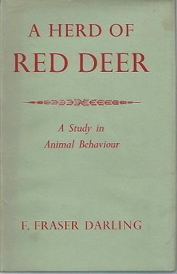 Image for A Herd of Red Deer - a study in animal behaviour   [Richard Fitter's copy]