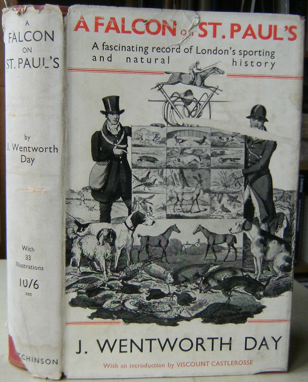 Image for A Falcon on St Paul's - being a book about the birds, beasts, sports and games of London   [Richard Fitter's copy]