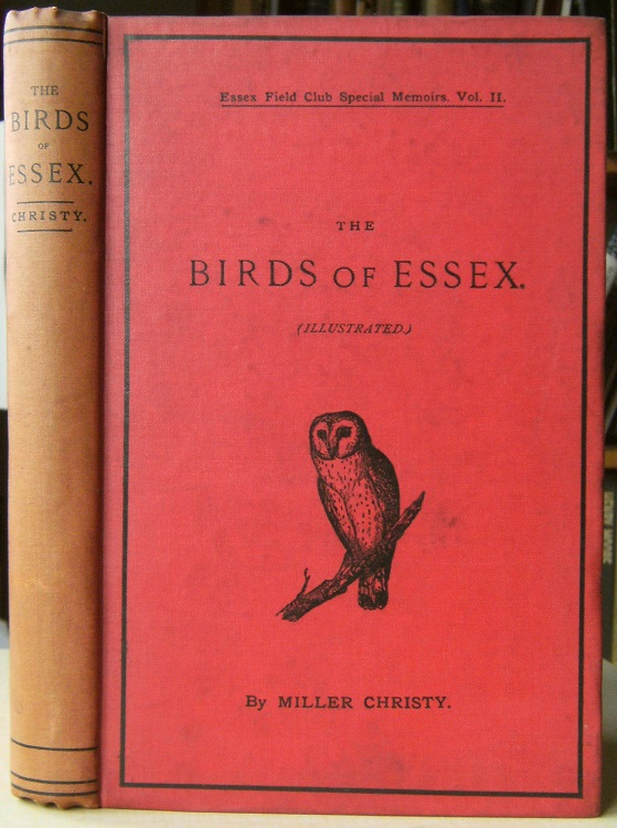 Image for The Birds of Essex: a contribution to the natural history of the county   [Richard Fitter's copy]