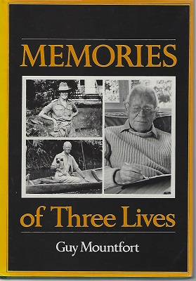 Image for Memories of Three Lives   [Richard Fitter's copy]
