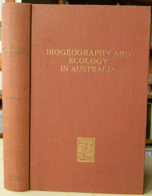 Image for Biogeography and Ecology in Australia    [Richard Fitter's copy]