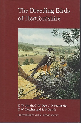 Image for The Breeding Birds of Hertfordshire    [Richard Fitter's copy]