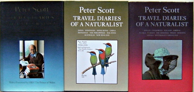 Image for Travel Diaries of a Naturalist - Three volumes  (Richard Fitter's copies)