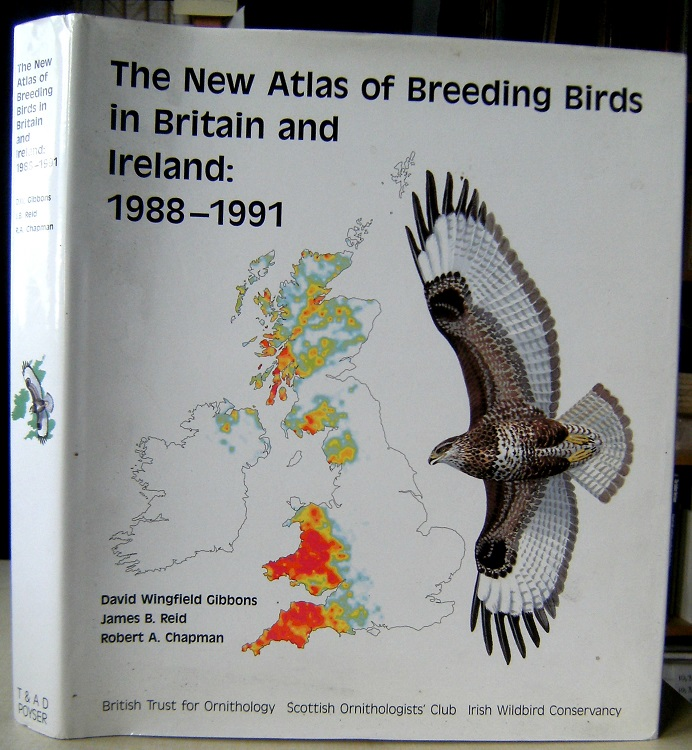 Image for The New Atlas of Breeding Birds in Britain and Ireland : 1988 - 1991  (Richard Fitter's copy)