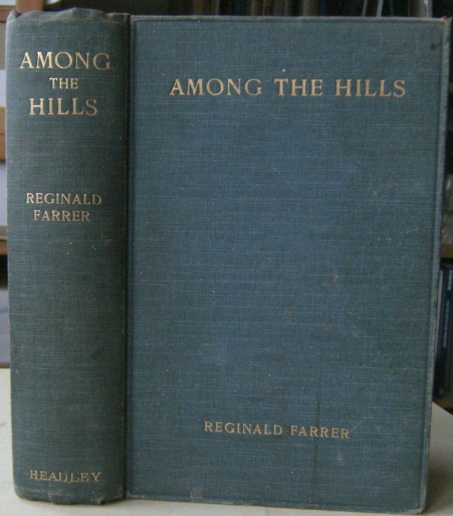Image for Among the Hills - a book of joy in high places