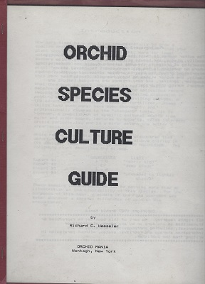 Image for Orchid Species Culture Guide