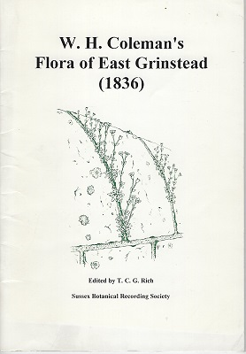 Image for W.H. Coleman's Flora of East Grinstead (1836)