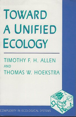 Image for Toward a Unified Ecology