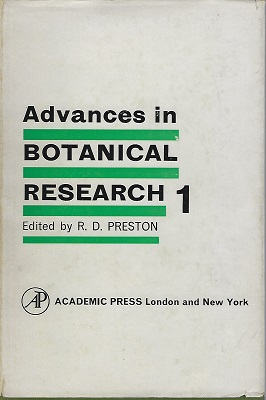 Image for Advances in Botanical Research - Volume 1