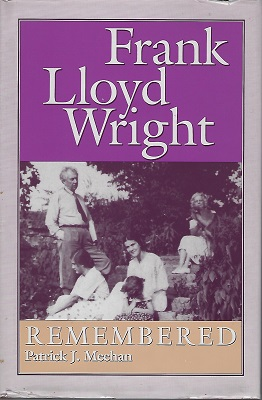 Image for Frank Lloyd Wright Remembered