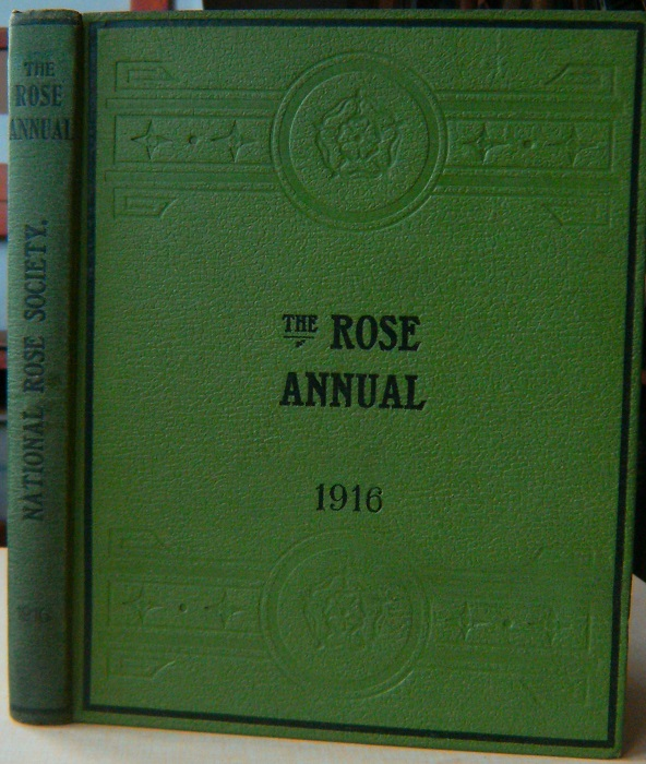 Image for The Rose Annual for 1916