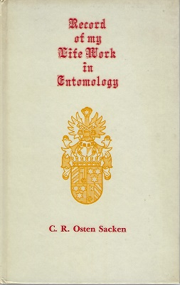 Image for Record of My Life-Work in Entomology (William Stearn's copy)