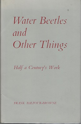 Image for Water Beetles and Other Things - half a century's work