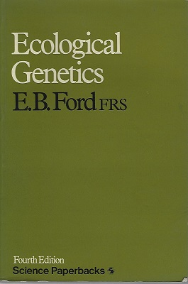 Image for Ecological Genetics (Fourth edition)