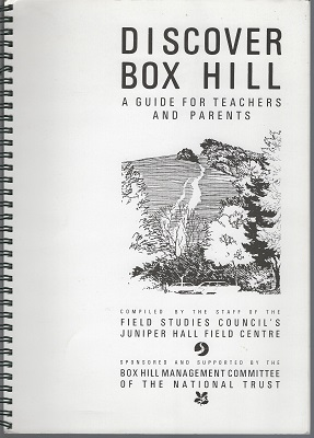Image for Discover Box Hill - a guide for teachers and parents